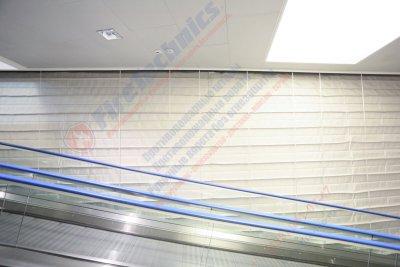 Противопожарные шторы «Гармошка»